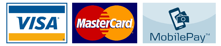 Visa - Mastercard - MobilePay
