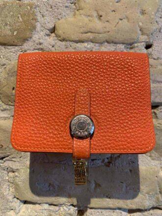 Hermes wallet in calf skin-1