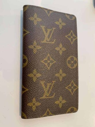 LV diary cover in leather