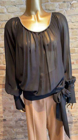 Vintage John Richmond blouse with collar detail
