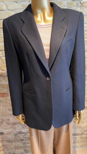 Vintage black label giorgio armani blazer