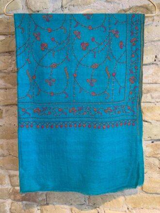 Cashmere hand embroderi scarves 9