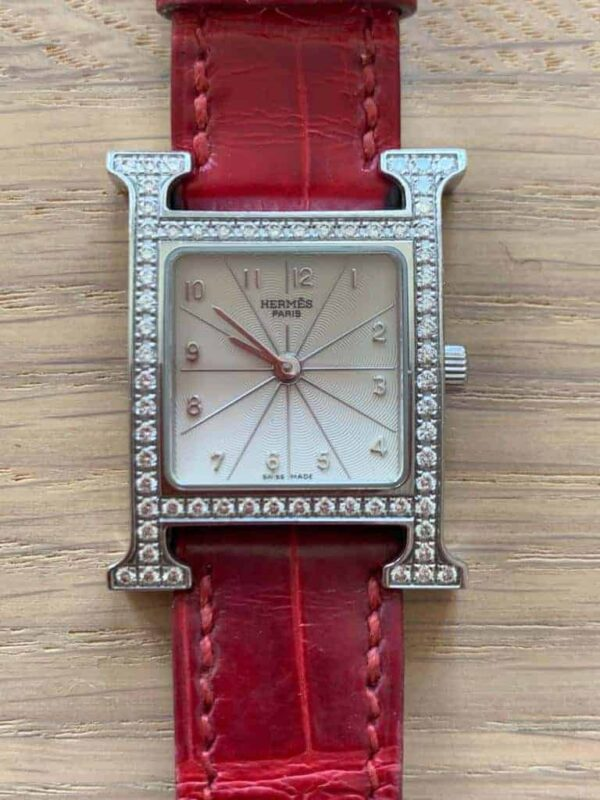Hermes H Hour PM stainless steel