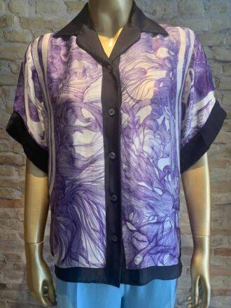 Hermes printed blouse