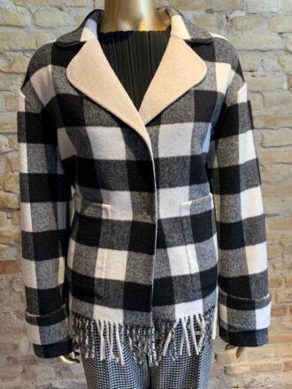 Seventy reversible check jacket