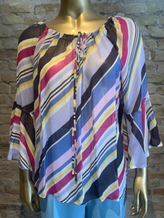 Seventy striped blouse