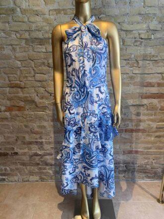 Theia long dress