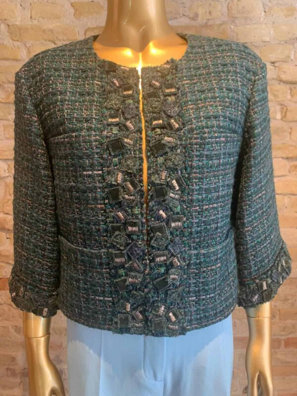 Vintage Chanel tweed jacket - Rock vintage