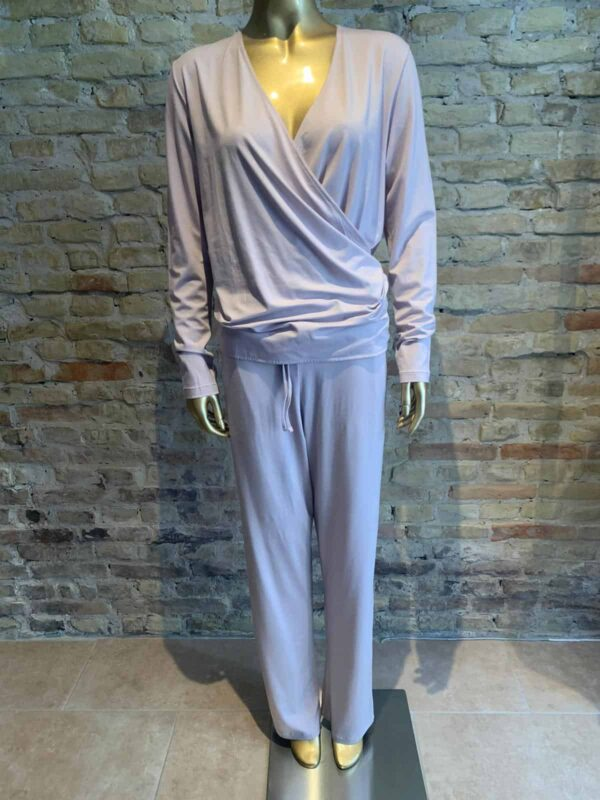 Zimmerli sweat pants in english rose color